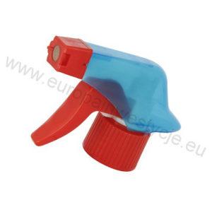 Trigger spieniający HD 01 S-3 - transparentnoniebieski-czerwony